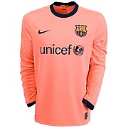 10-11 Barcelona Third Shirt Long Sleeved