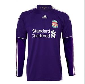 10-11 Liverpool Away Goalkeeper Shirt