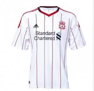 10-11 Liverpool Away Shirt