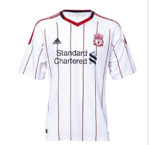 10-11 Liverpool Away Shirt