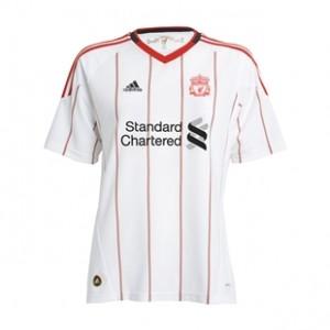 10-11 Liverpool Away Shirt Women