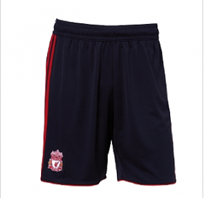 10-11 Liverpool Away Shorts