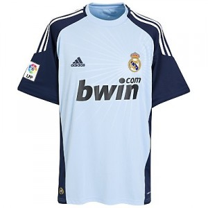 10-11 Real Madrid Away Goalkeeper Shirt