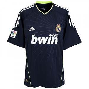 10-11 Real Madrid Away Shirt