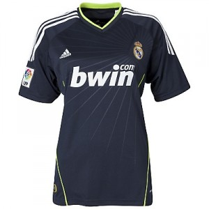 10-11 Real Madrid Away Shirt Women