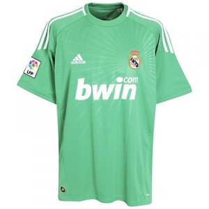 10-11 Real Madrid Home Goalkeeper Shirt
