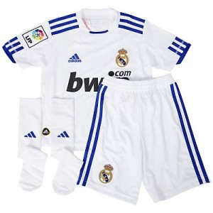 10-11 Real Madrid Home Minikit