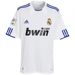 10-11 Real Madrid Home Shirt