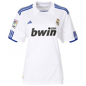 10-11 Real Madrid Home Shirt Women