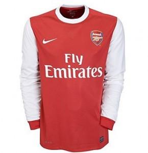 10-11 Arsenal Home Shirt Long Sleeved