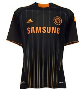 10-11 Chelsea Away Shirt Kids
