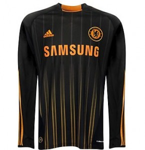 10-11 Chelsea Away Shirt Long Sleeved