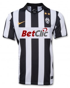 10-11 Juventus Home Shirt