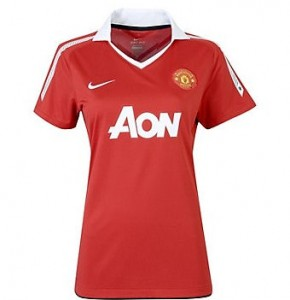10-11 Manchester United Home Shirt Women