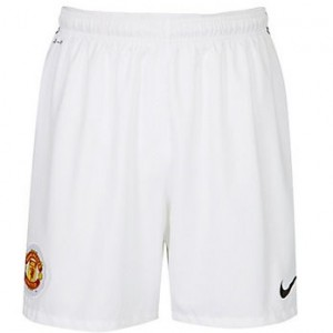 10-11 Manchester United Home Shorts