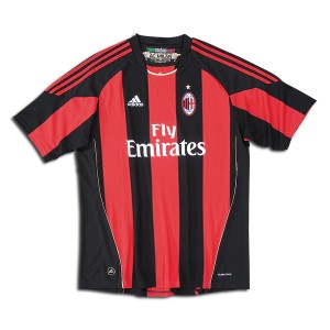 10-11 AC Milan Home Shirt Kids