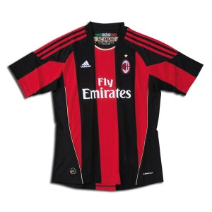 10-11 AC Milan Home Shirt Women