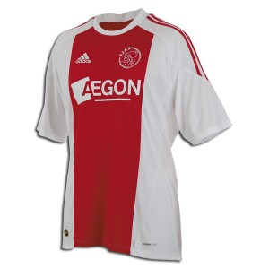 10-11 Ajax Home Shirt