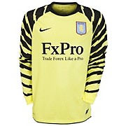 10-11 Aston Villa Home Goalkeeper Shirt