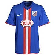 10-11 Atletico Madrid Away Shirt