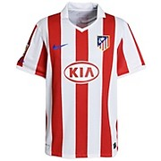 10-11 Atletico Madrid Home Shirt