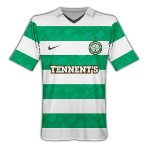 10-11 Celtic Home Shirt Kids