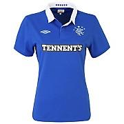 10-11 Glasgow Rangers Home Shirt Women