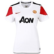 10-11 Manchester United Away Shirt Women