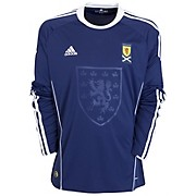 10-11 Scotland Home Shirt Long Sleeved