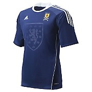 10-11 Scotland home Shirt