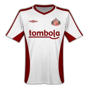 10-11 Sunderland Away Shirt
