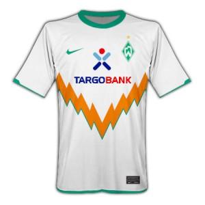 10-11 Werder Bremen Away Shirt