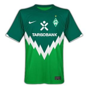 10-11 Werder Bremen Home Shirt