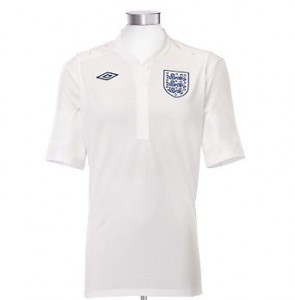 11-12 England Home Shirt