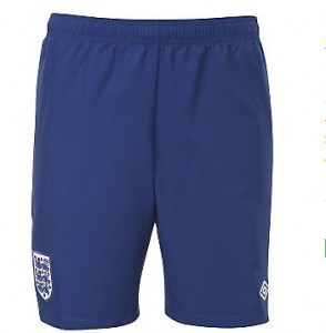 11-12 England Home Shorts