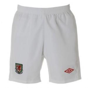 11-12 Wales Home Shorts