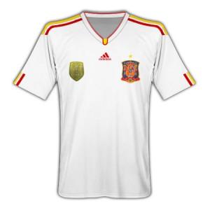 11-12 Spain Away Shirt