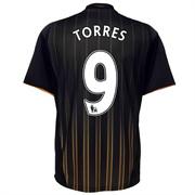 10-11 Chelsea Away Shirt Torres 9
