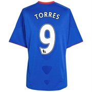 10-11 Chelsea Home Shirt Kids Torres 9