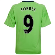 10-11 Chelsea Third Shirt Torres 9
