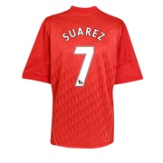10-11 Liverpool Home Shirt Suarez 7