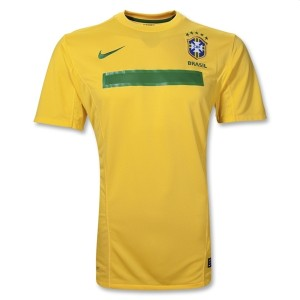 11-12 Brazil Home Shirt Kids