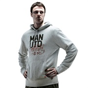 Manchester United Core Hoodie Grey