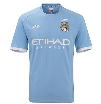 10-11 Manchester City FA Cup Final Home Shirt
