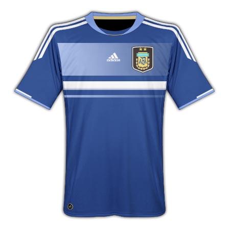 11-12 Argentina Away Shirt