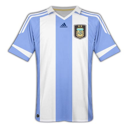 11-12 Argentina Home Shirt