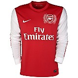 11-12 Arsenal Home Shirt Long Sleeved