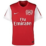 11-12 Arsenal Home Shirt Kids