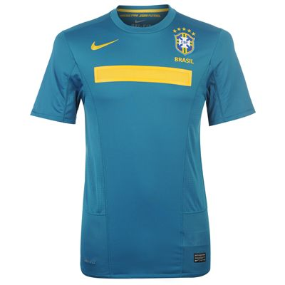 11-12 Brazil Away Shirt Kids