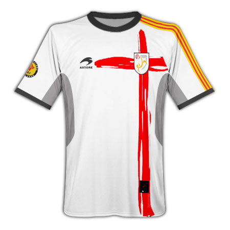 11-12 Catalonia Away Shirt